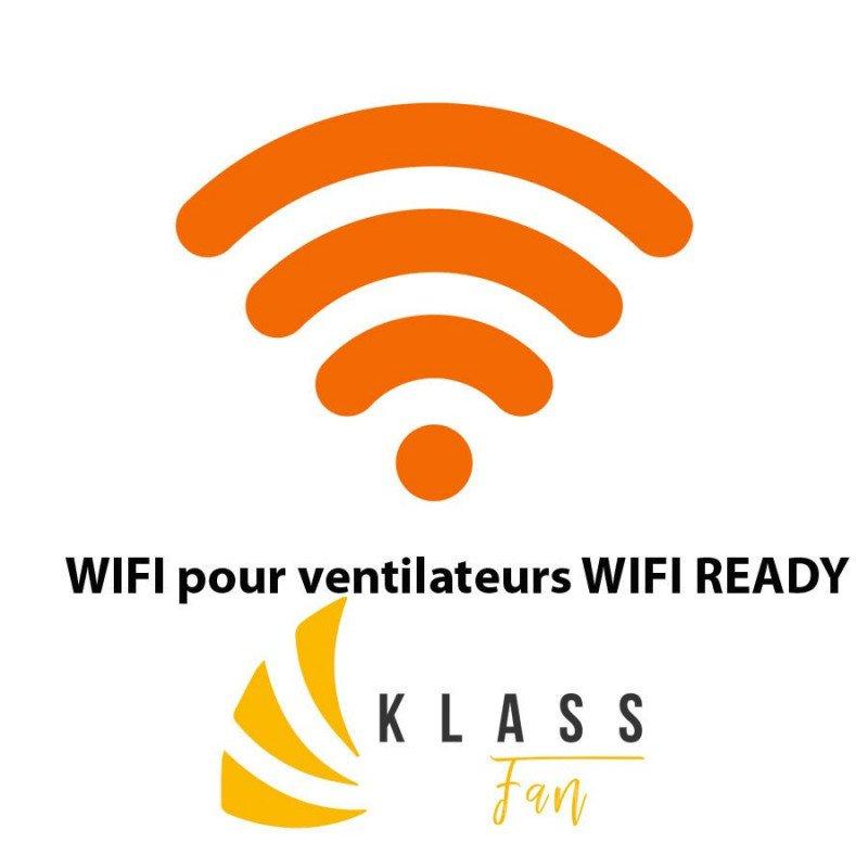 Contrôleur Wifi pour ventilateurs Klassfan Wifi ready, logiciel intégré Klassfan natif
