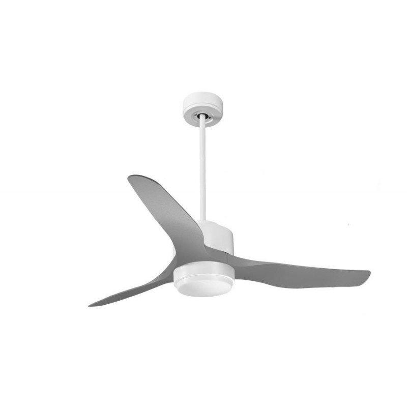 Modulo de KlassFan - déstratificateur d'air, avec Lumière Blanc idéal pour 25 à 40 m² KL_DC4_P4GR_L1WI