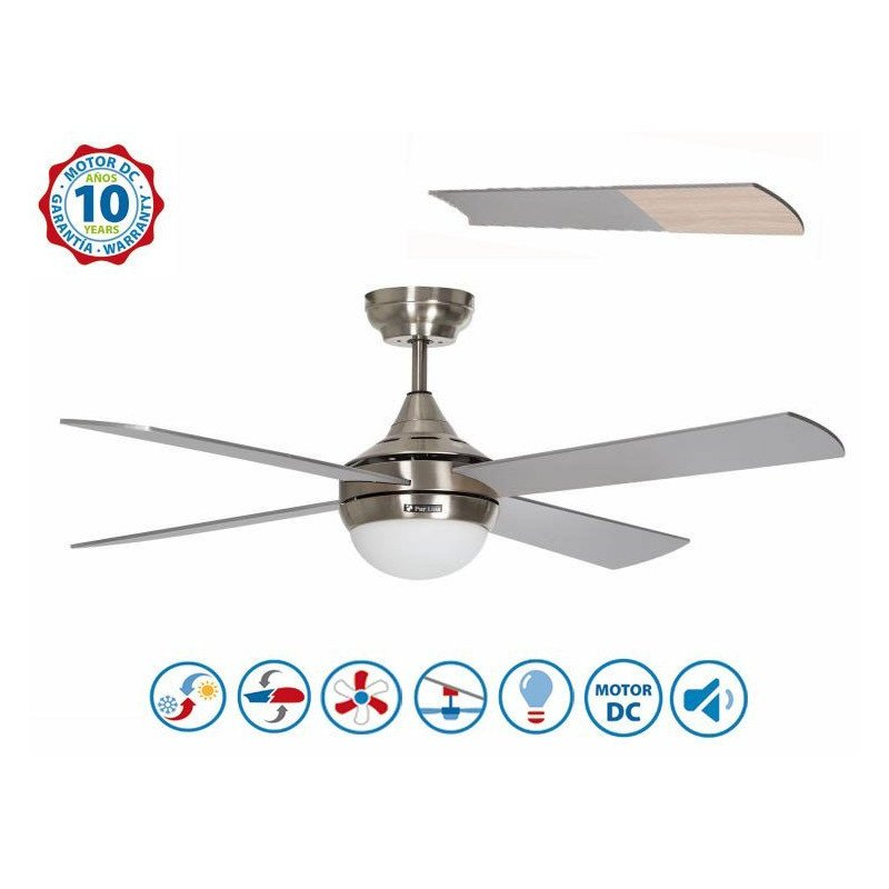 Riaicade KlassFan une série limitée ventilateurs de plafond DC design, plus compact, ultra puissant, avec plaque LED