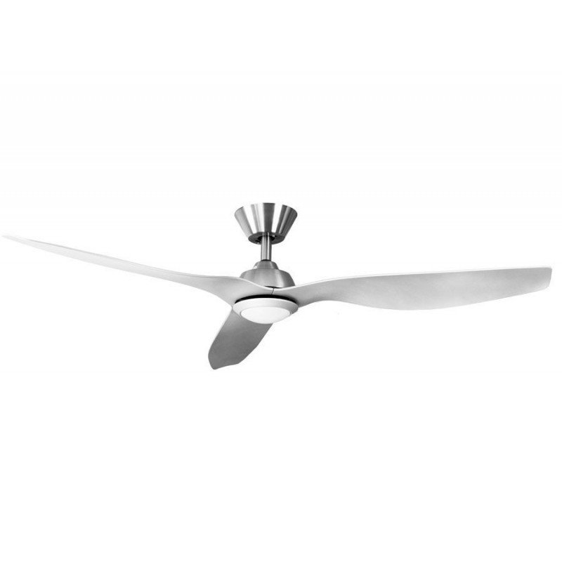 ventilateurs de plafond DC design blanc avec telecommande, plus compact, ultra puissant, avec plaque LED
