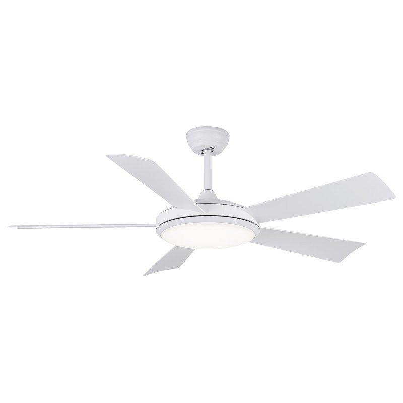 Margarita un ventilateur de plafond DC connecté alexa, google home, iOS, lampe 3 tons.
