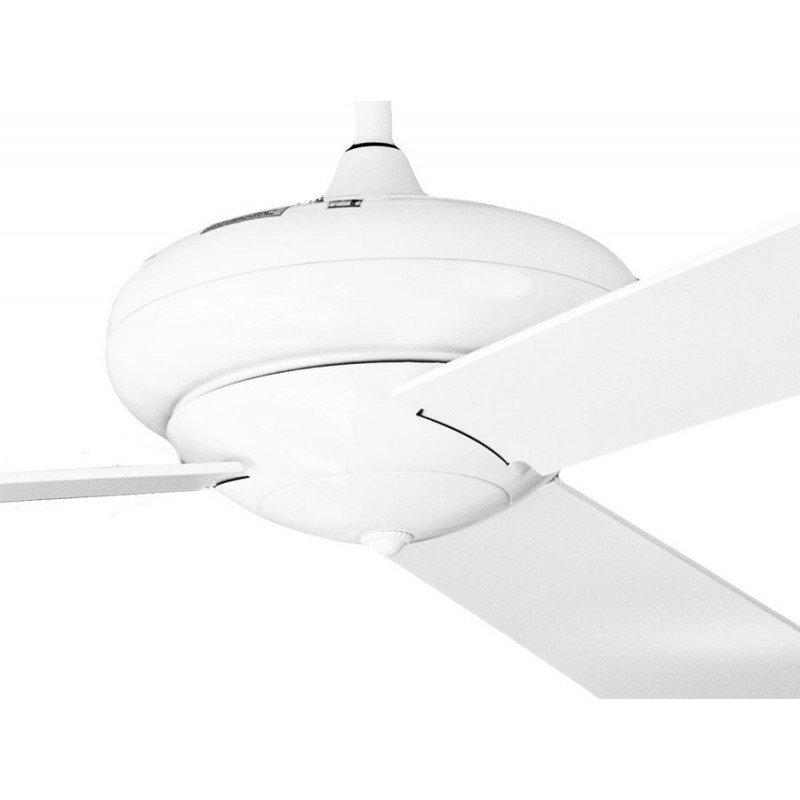 Vaudaire de Klassfan, ventilateur de plafond blanc avec commande murale
