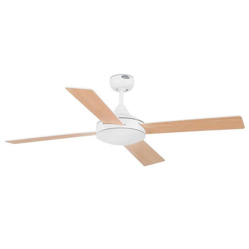 Ventilateur de plafond moderne 132 cm blanc faro MALLORCA 33350