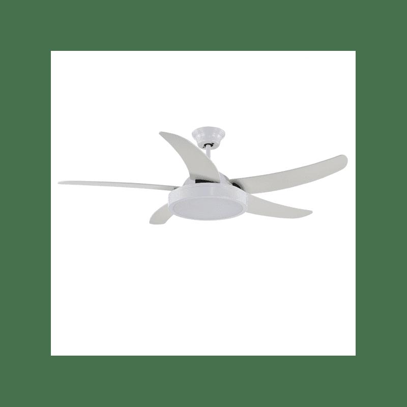 Ventilateur de plafond moderne blanc