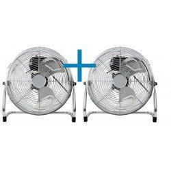 Brasseur d'air industriel haute performances 45 Cm, 55 Watts avec potence et rotation à 180 °.