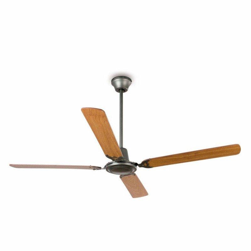 Ventilateur de plafond classique 140 cm gris foncé faro MALVINAS 33110