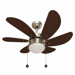 Ventilateur de plafond rustique Colores