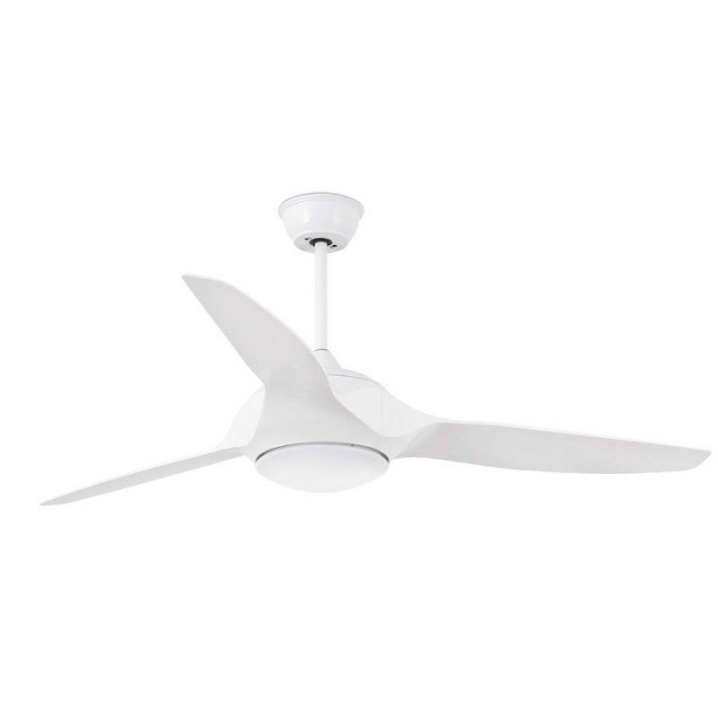 Modern Ceiling Fan 132 Cm White Led Lamp D Ir Remote Control