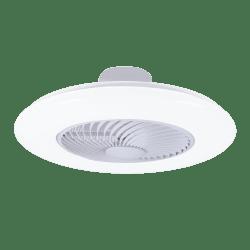 Uffo ventilateur hybride de plafond ou mural, avec point lumineux puissant