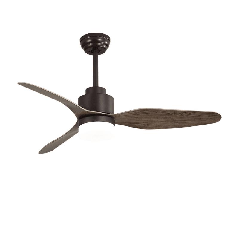 Ventilateur de plafond Trispin brown moderne