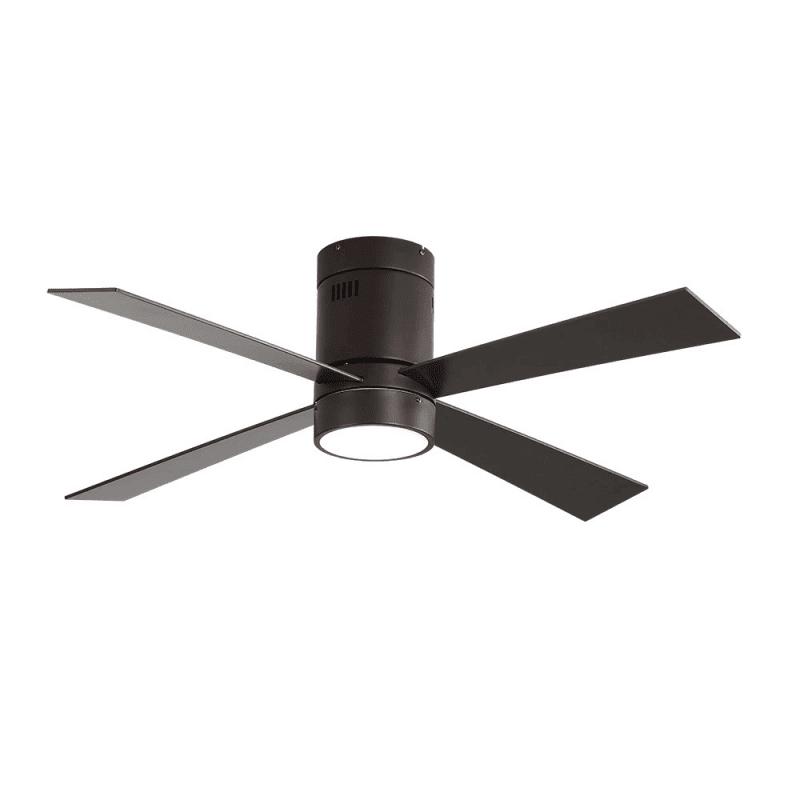 Ventilateur de plafond Twist Lt brown moderne
