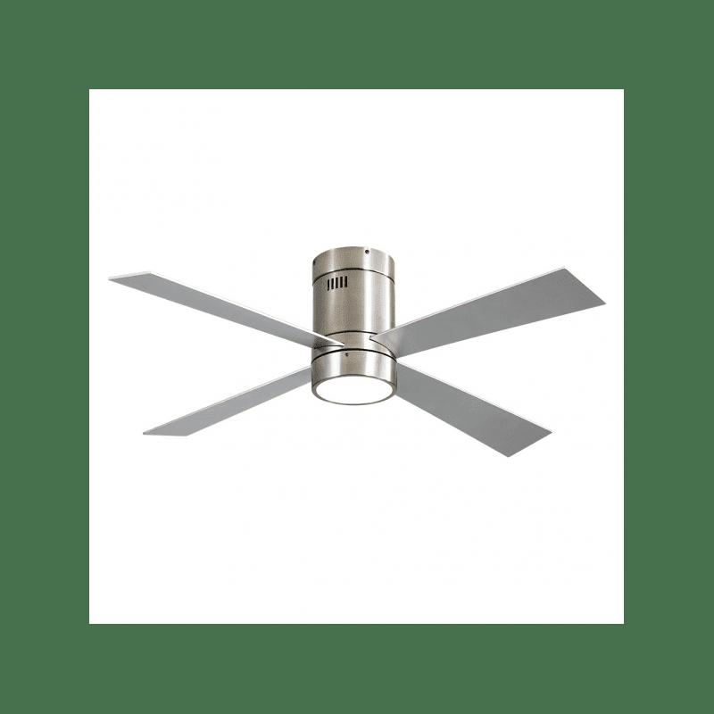 Ventilateur de plafond Twist Lt Silver moderne