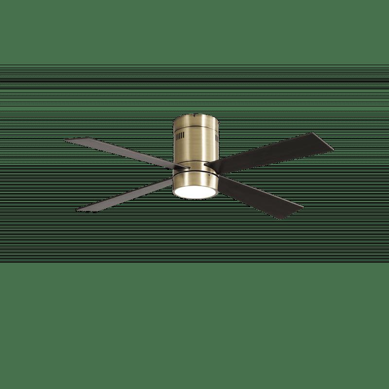 Ventilateur de plafond Twist Lt Brass moderne