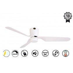 Потолочный вентилятор, современный, 132 см. белый, FARO Pemba 33471