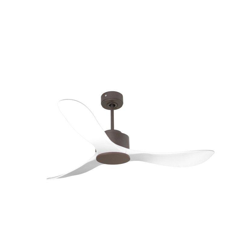 Modulo de KlassFan - Super déstratificateur d'air sans Lumière chocolat et blanc idéal de 25 à 40 m² KL_DC6_P3 WI