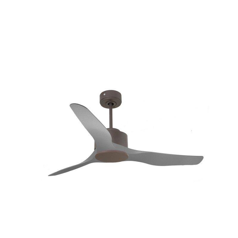 Modulo de KlassFan - Super déstratificateur d'air sans Lumière chocolat et gris idéal de 25 à 40 m² KL_DC6_P4GR