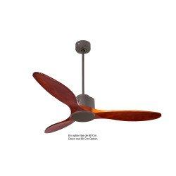 Modulo de KlassFan - Super déstratificateur d'air avec thermostat, chocolat et bois clair idéal de 25 à 40 m² KL_DC6_P5 SW133