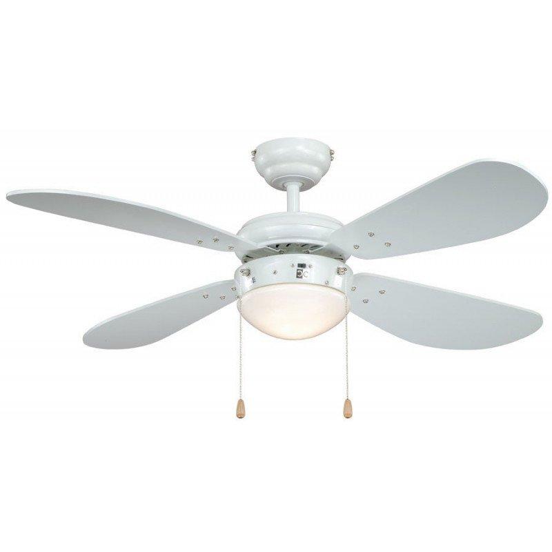 ventilateur de plafond classic blanc un ventilateur con u. Black Bedroom Furniture Sets. Home Design Ideas