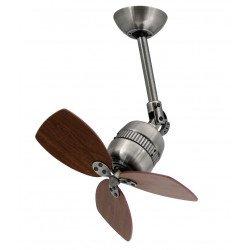 Ventilateur de plafond aluminium or vieilli 46 cm - FARO vedra 33450