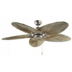 Ventilatore a soffitto, Mirage WE-WE, 142 Cm, bianche moderne laccate bianche lame industriali, il controllo remoto, CASAFAN