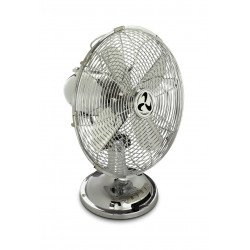 Table Ventilator 100% chrome, blades 30 cm, with a ventilation power of 4,000 m3 / h, oscillation
