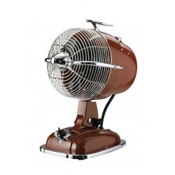Table fan, red, casafan Retrojet, in beautiful retro style