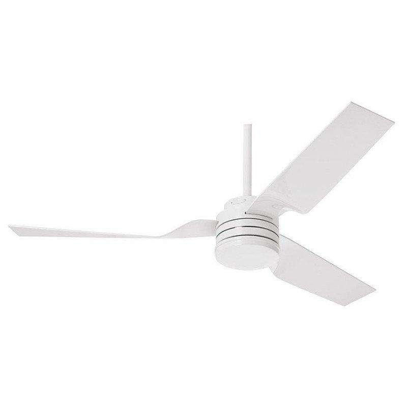 el cabo frio de hunter, un ventilador de techo blanco moderno con luz