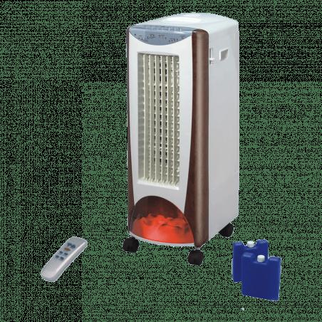 Rafraîchisseur d'air chauffage céramique EV 2000, un produit 4 en 1pratique en toutsaisons.