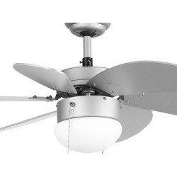 Ventilateur de plafond gris 76 cm avec lampe intégrée - FARO PALAO gris 33186