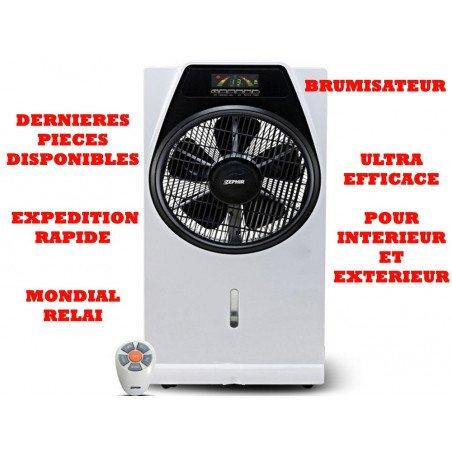 Brumisateur Zephir 30 Cm avec télécommande, ideal pour les milieux ouverts.