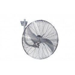 Brasseur d'air oscillant chrome haute performances 50 Cm, 123 Watts, hauteur 158 Cm ultra puissant.