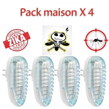 Pack destructeur d'insecte Z4P pour toute la maison, passez l'été sans piqûres ni moustiques !