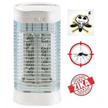 Destructeur d'insecte Z112 pour 10 m²,ultra efficace, il aspire les moustiques, avant de les électrocuter !