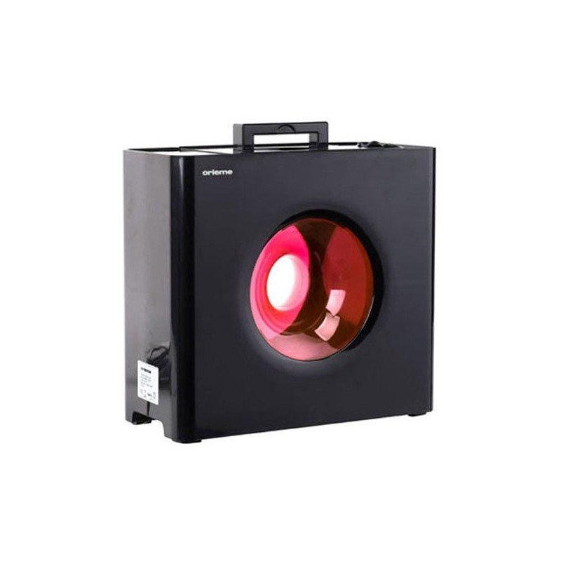 Humidificateur design hybride a vapeur froide et chaude avec hygrostat.
