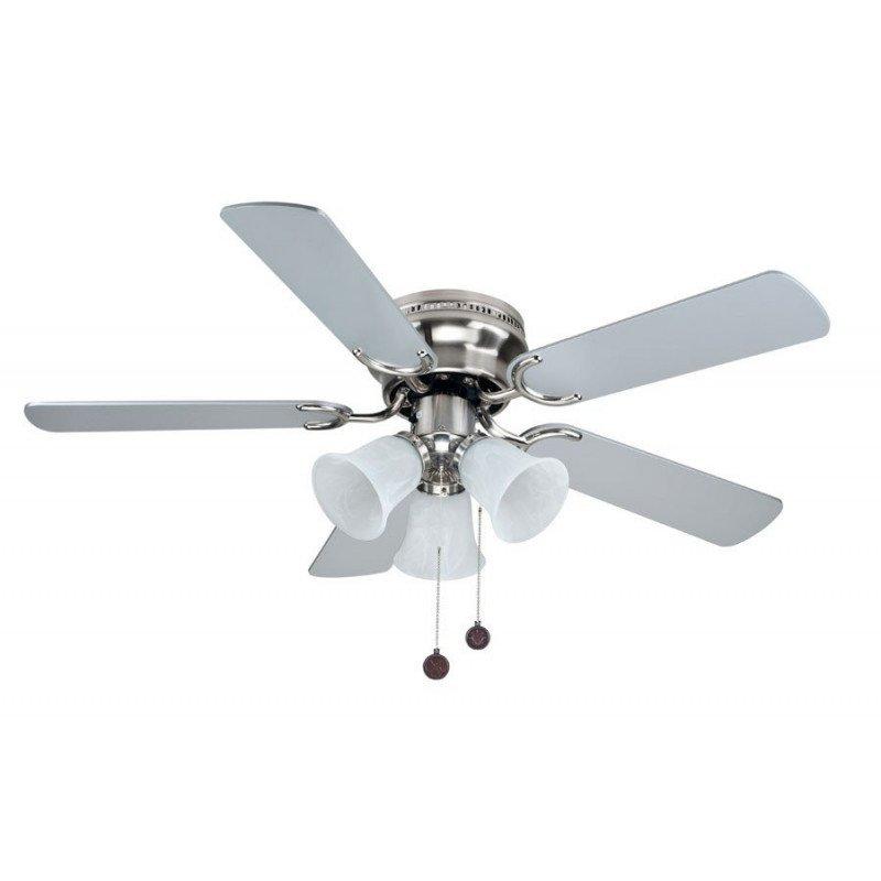 Ventilateur de plafond, westland classique, faible profil, avec 3 lumieres
