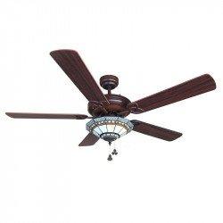 Потолочный вентилятор, современный, 122 см. хромированные лезвия с двумя лицами - белый серый. блок управления