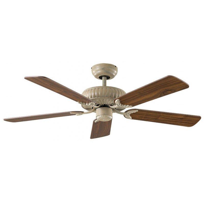 Ventilateur de plafond blanc DC, Impérial, à composer vous même. CASAFAN 132 AW