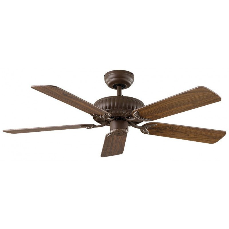 Ventilateur de plafond Bronze DC, Impérial, à composer vous même. CASAFAN 132 BZ