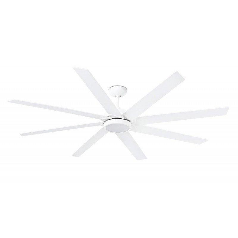 Ventilateur de plafond brasseur très grand taille blanc moderne DC 215 cm FARO ANDROS 33461