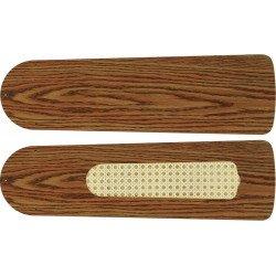 Pales 132 cm, pour ventilateur de plafond FLAT, ROYAL couleur chêne antique..