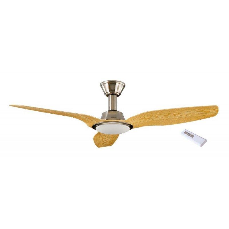 Ventilateur de plafond DC 142 Cm avec télécommande lampe led LBA home So Net LBA HOME