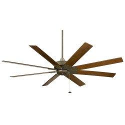 Потолочный вентилятор MARIANO PWW 132 см. Современный олово Мат ECO лампу Пульт дистанционного управления Ультра тихий