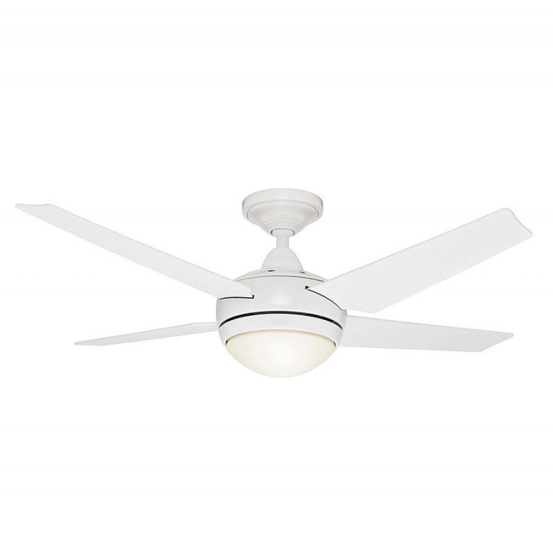 Ceiling Fan Sonic White And Blades Silent 132 Cm