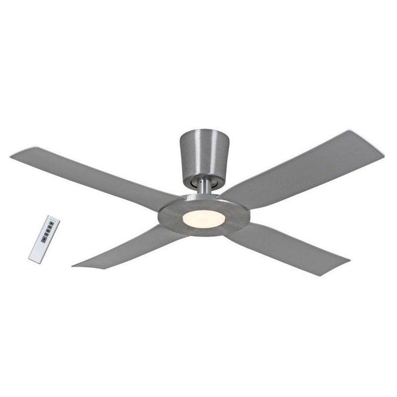 Eco Disk, ventilateur de plafond 142 Cm en aluminium avec led 18 Watts et télécommande