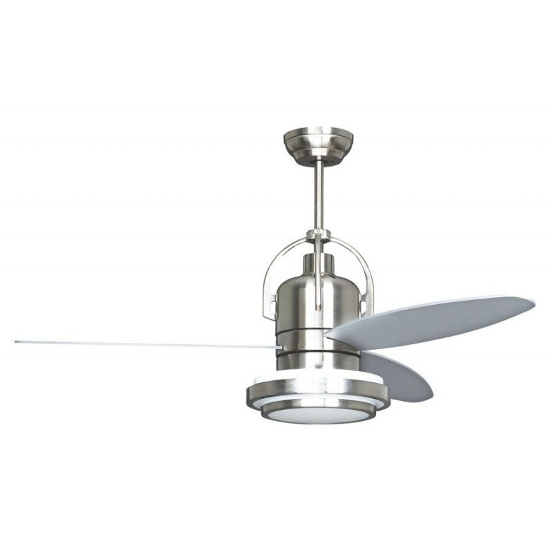 Modern Ceiling Fan 122 cm chocolate color and avenged blades / beech and remote control