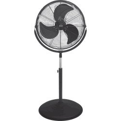 High velocity fan high performance 40 Cm 110 Watts, height 147 Cm ultra powerful.