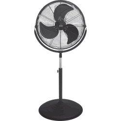 Stand Fan, Wind Machine, 45 Cm, 110 Watts, height 135 Cm.