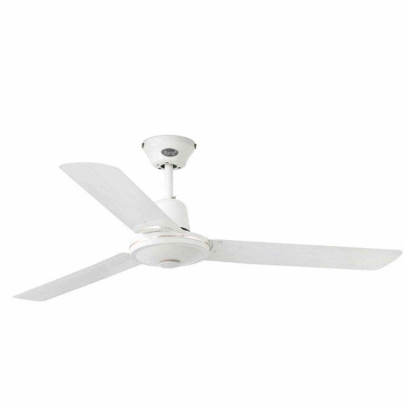 Ventilateur de plafond industriel blanc 120 cm FARO eco indus 33005