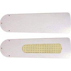 Pales 103 cm, pour ventilateur de plafond FLAT, ROYAL couleur blanches..