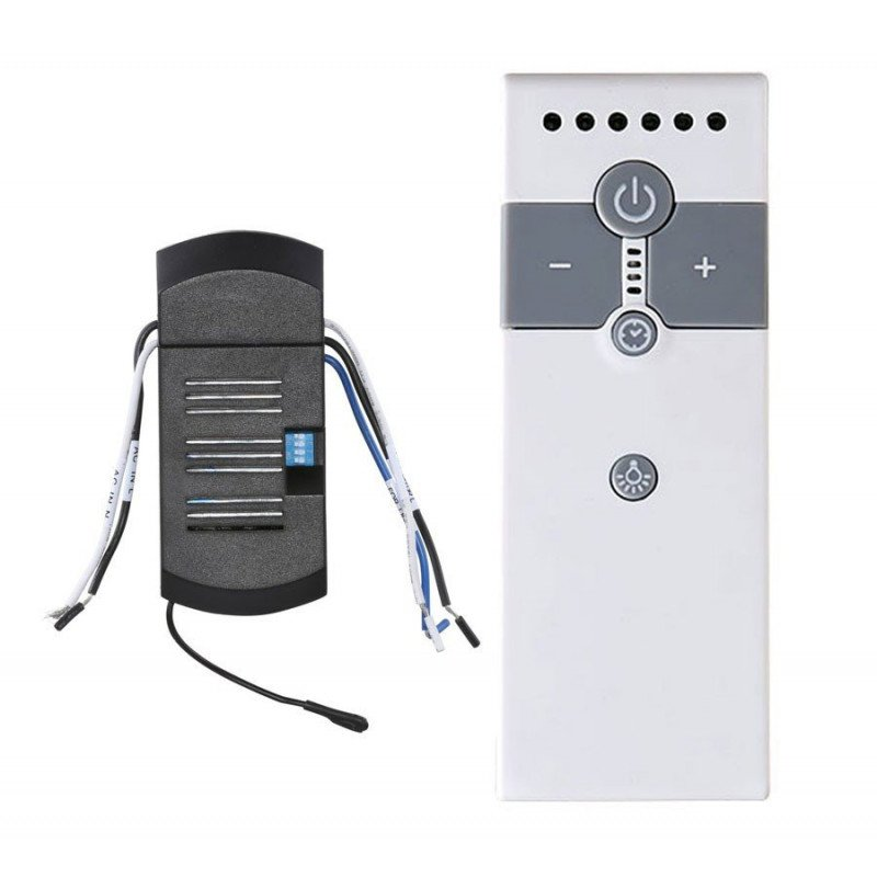 IR remote control, universal Ceiling Fan, ideal for LED and light bulbs